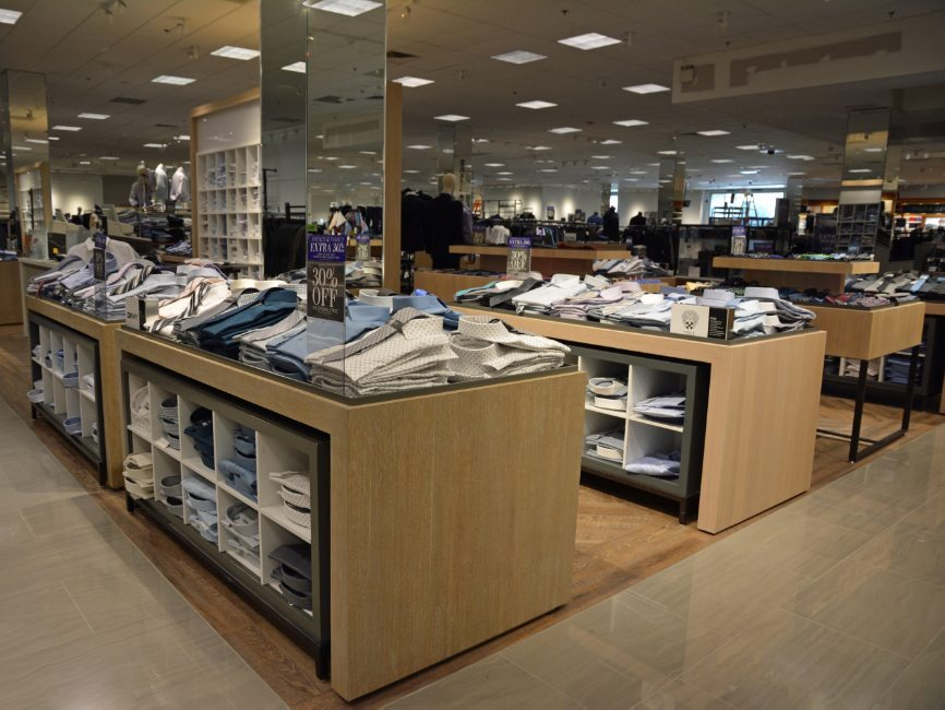 Lord & Taylor Shop-in-Shop Retail Interior by Visual Millwork